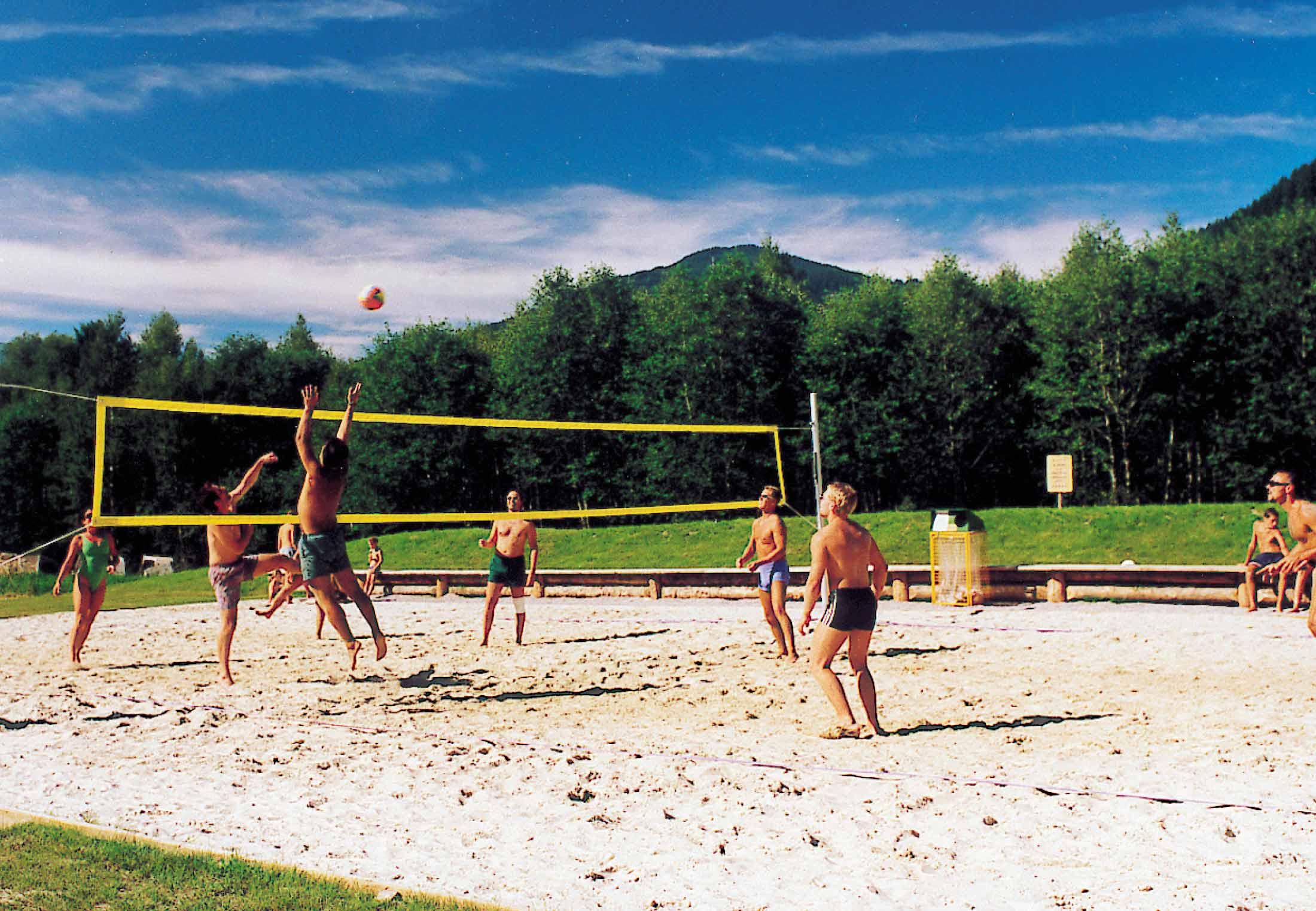 Beachvolleyball-Platz
